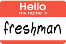 Hello my name is Freshman
